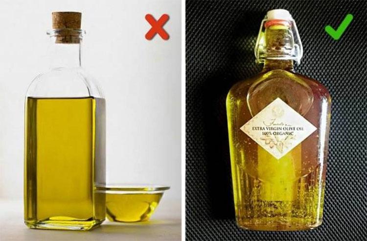 Đặc điểm chung của dầu olive giả chính là chúng rất rẻ so với hàng thật