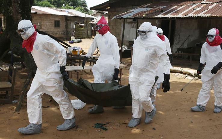Người thiệt mạng do virus ebola gây nên