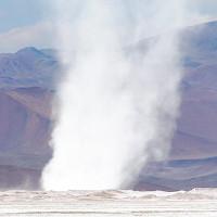 Lốc xoáy pha lê kỳ lạ trên đỉnh dãy Andes