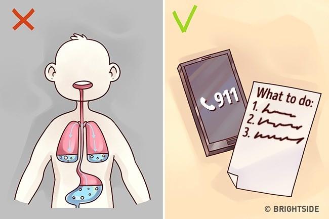 Trong trường hợp nghi ngờ bệnh nhân ngộ độc, hãy gọi xe cấp cứu ngay.