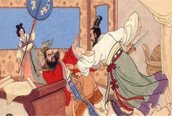 Nhiếp Chính xông vào phòng thích sát Hàn tướng Hiệp Lũy