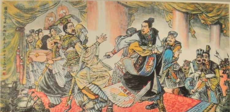 Kinh Kha hành thích Tần Thủy Hoàng nhưng thất bại.