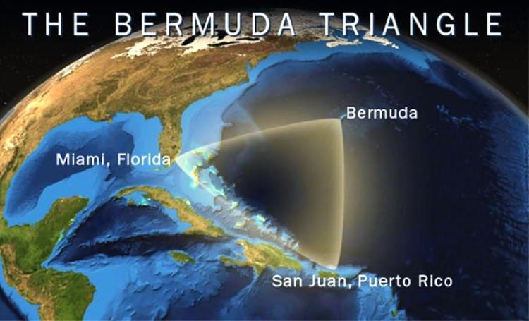 Tam giác quỷ Bermuda được cho nơi 1.000 người vĩnh viễn mất tích.