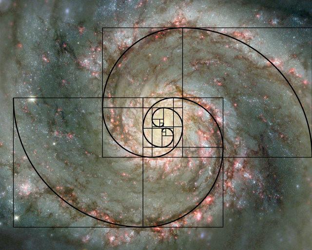 Tỷ lệ vàng của ngân hà