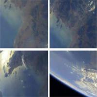 Triều Tiên công bố hình ảnh Trái Đất chụp từ không gian