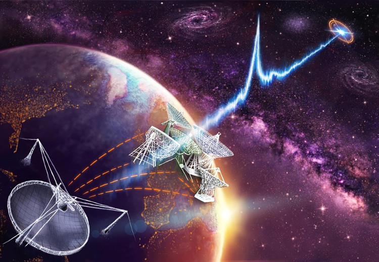 Chớp sóng vô tuyến mới phát hiện đến từ chòm sao Leo.