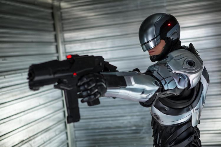Cảnh sát robot này chính là lực lượng bổ sung mới nhất trong lực lượng bảo vệ quần chúng.
