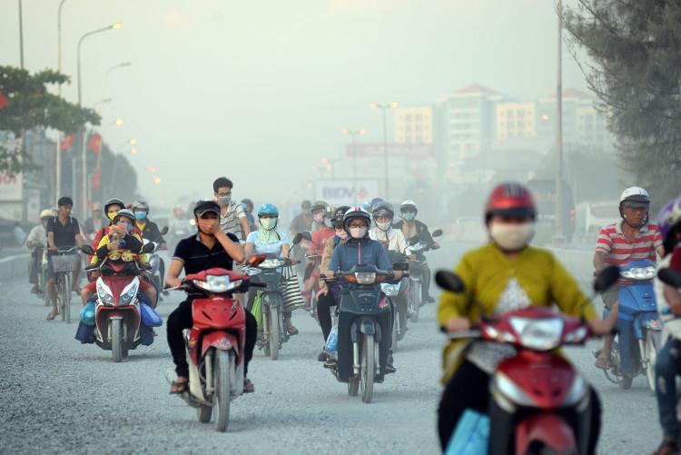 Ở Trung Quốc mỗi giờ đồng hồ có 183 người chết do khói bụi.