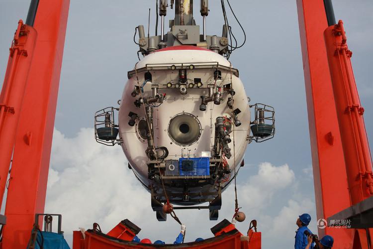 Giao Long là tàu lặn nước sâu có người lái đầu tiên của Trung Quốc.