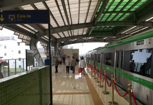Theo thông tin của BQL, hệ thống cửa ke ga tự động có thể sẽ được lắp đặt trong tương lai.
