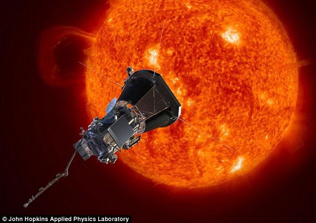 Kế hoạch chạm vào Mặt trời của NASA.
