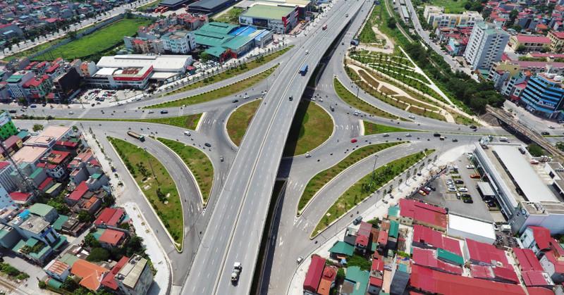 Nút giao thông trung tâm quận Long Biên khởi công năm 2014