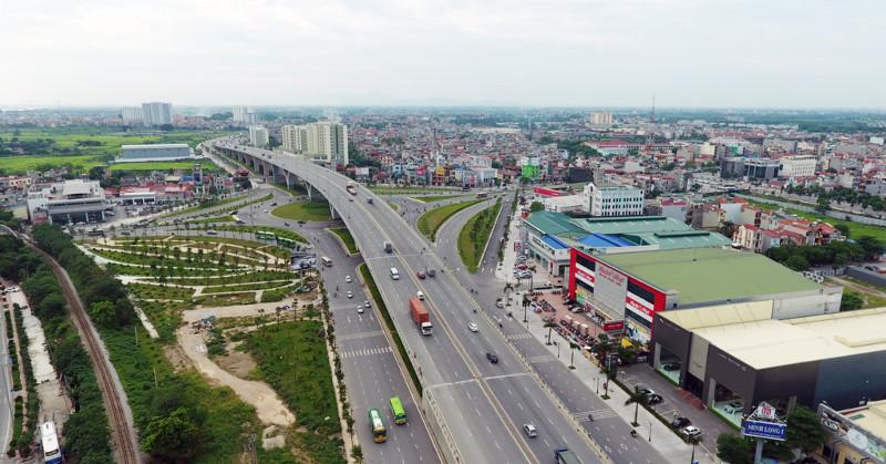 Nút giao Long Biên được hoàn thiện đồng bộ gồm cầu vượt thép lớn nhất Việt Nam