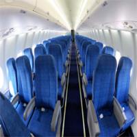 Vì sao nội thất máy bay lại chủ yếu có màu xanh?