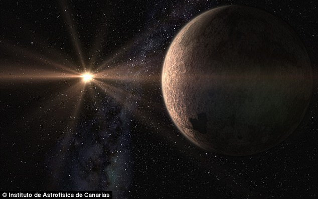 Hành tinh này nằm cách chúng ta 21 năm ánh sáng