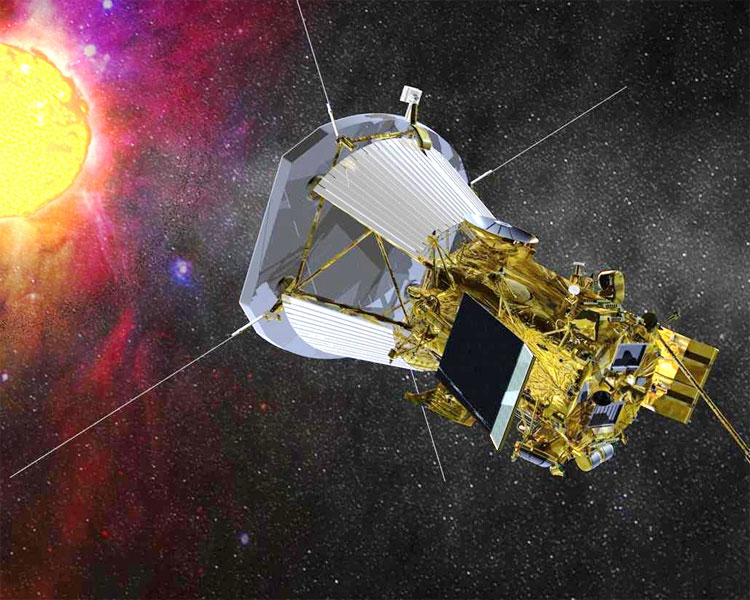 Tàu Solar Probe Plus.