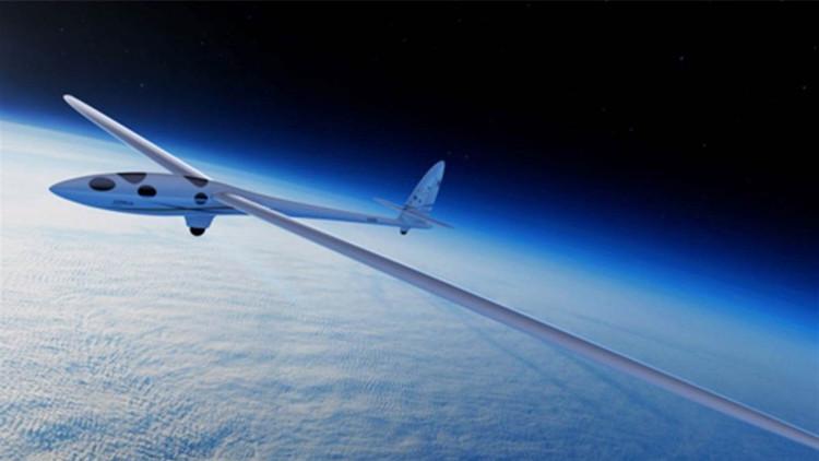 Chiếc máy bay siêu nhẹ không cần động cơ để bay tới rùa vũ trụ.