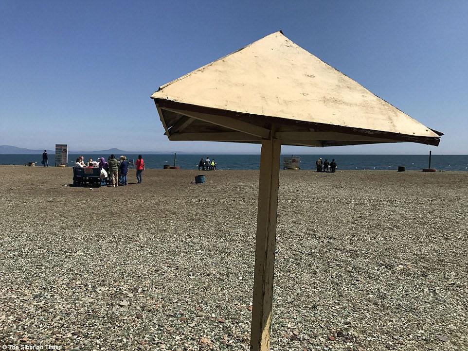 Bãi biển giống như món quà của thiên nhiên