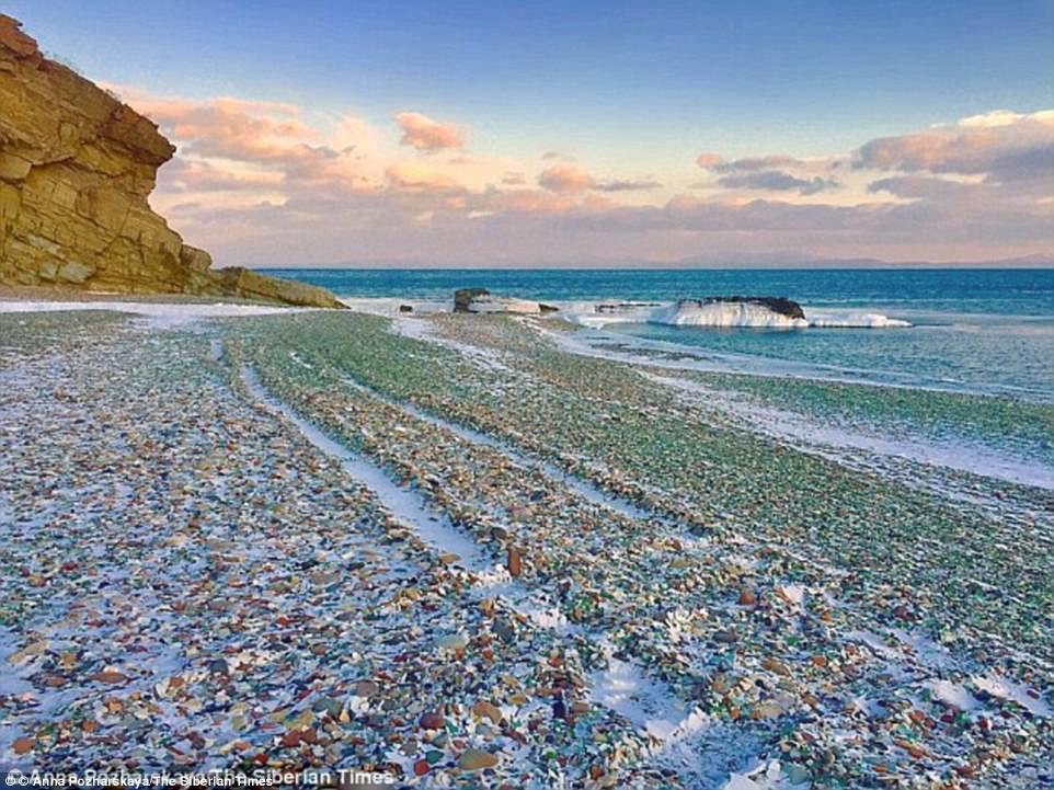 Chỉ sau một thời gian ngắn nữa, bãi biển này sẽ chỉ còn trơ lại cát sỏi