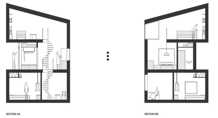 """Thiết kế nhà """"tổ chim""""."""