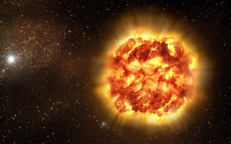 Chỉ một ngôi sao phát nổ dữ dội, sẽ kéo theo hệ lụy đến nhiều ngôi sao khác gần nó, gây ra hệ lụy nghiêm trọng.