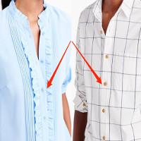 Vì sao vị trí cúc áo phụ nữ và nam giới ngược nhau?