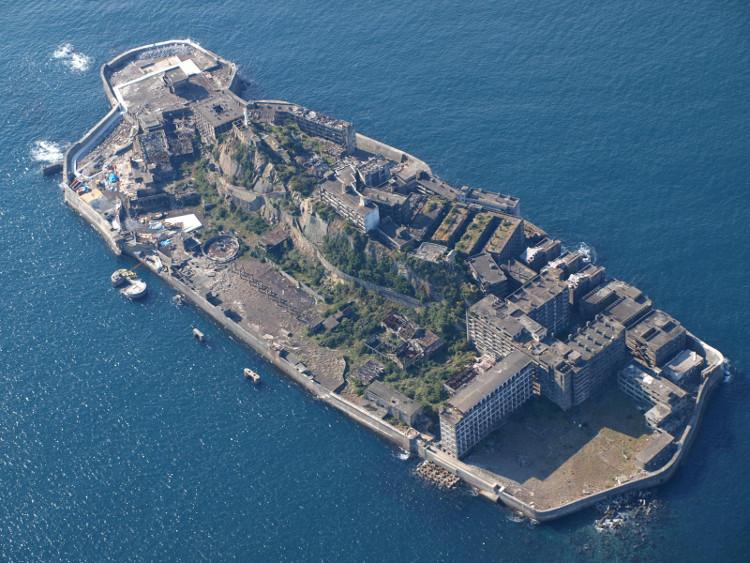 Hòn đảo một thời làm biểu tượng công nghiệp hóa.