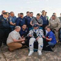 Hai phi hành gia trở về Trái Đất an toàn từ trạm ISS