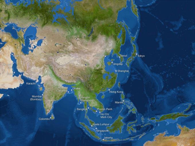 Thành phố Hồ Chí Minh của Việt Nam có thể bị chìm trong biển nước.
