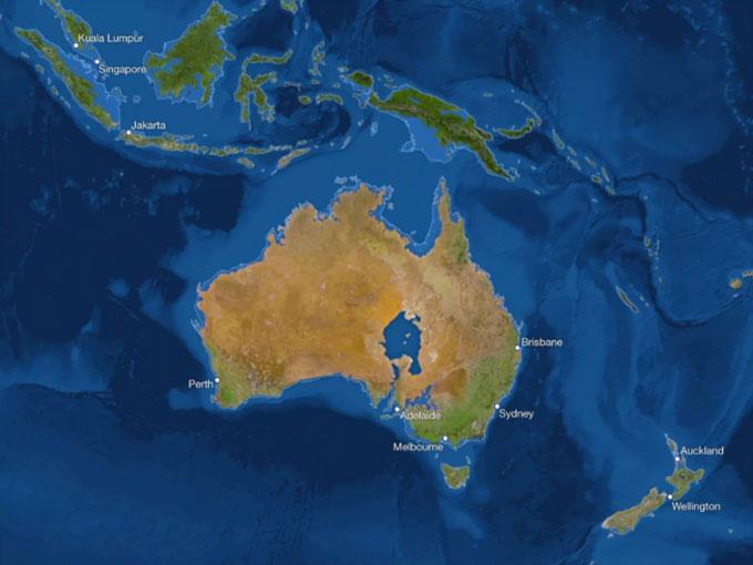 Australia sẽ có biển mới trong đất liền nhưng mất phần lớn dải duyên hải hẹp