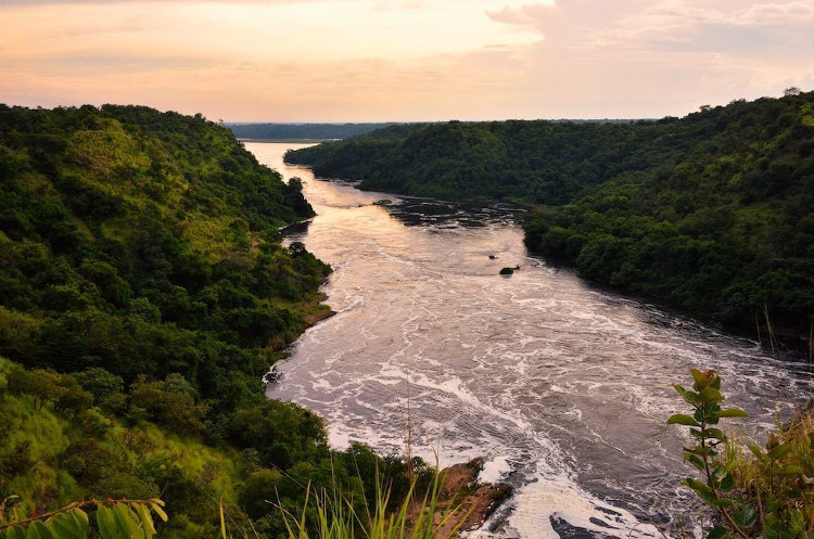 Sông Nile biểu tượng của Ai Cập.