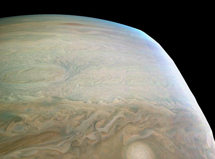 """NASA gọi đây là """"Rìa cạnh của Sao Mộc""""."""