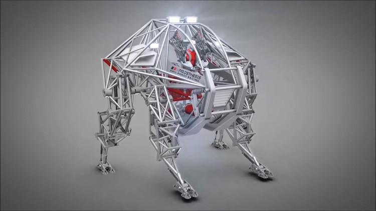Prothesis - robot đua điện tử.