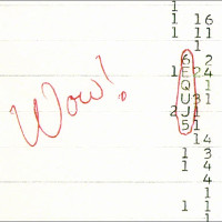 """Giả thuyết mới về tín hiệu """"Wow!"""" nghi của người ngoài hành tinh"""