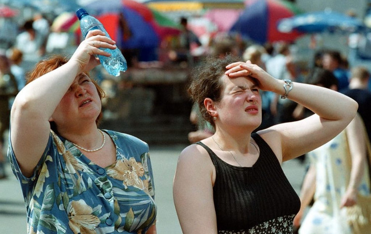 Các đợt nóng kéo dài ảnh hưởng tới sức khỏe con người.