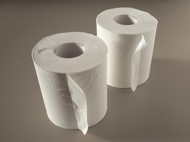Vi khuẩn rất dễ bám vào những tờ giấy mỏng manh như giấy vệ sinh.