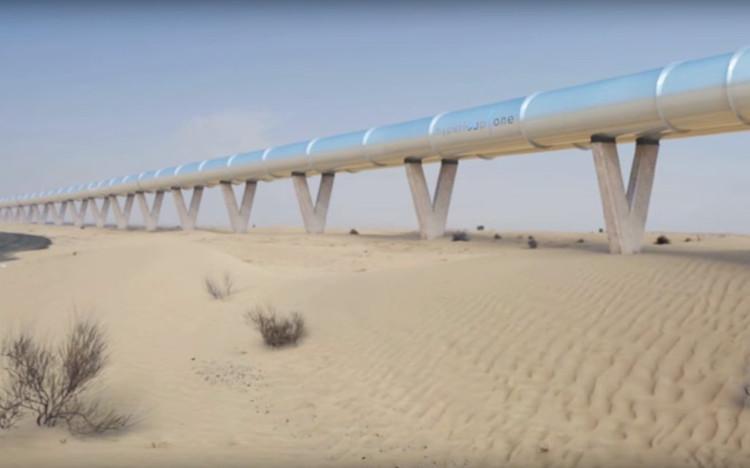 Ba đường ống đầu tiên đang được xem xét cho Hyperloop tại châu Âu.