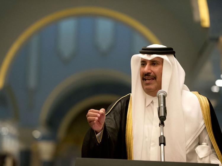 Thủ tướng Qatar Sheik Hamid bin Jasim.