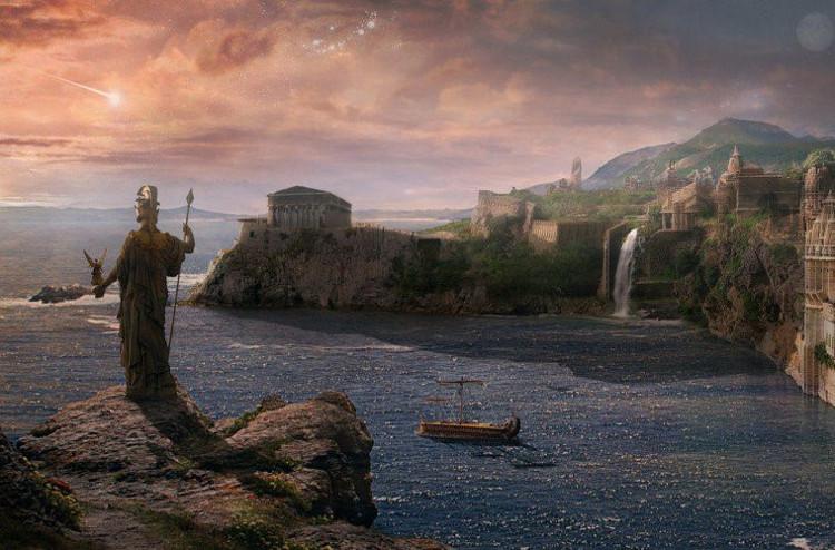 Tương truyền, Atlantis được thần Poseidon xây dựng để gây ấn tượng với một phụ nữ bình thường có tên Cleito.