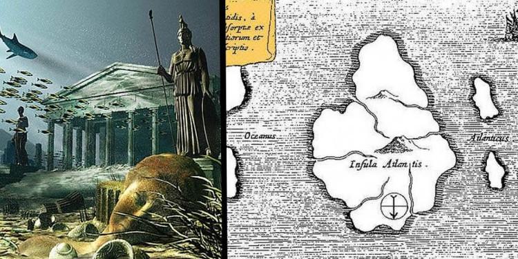 Plato là người đầu tiên viết về Atlantis
