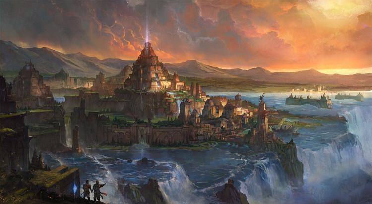 Atlantis là thành phố khổng lồ