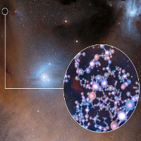 Nguyên liệu sự sống cách Trái Đất 400 năm ánh sáng
