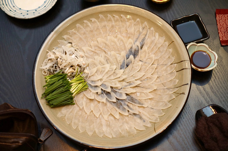 Cá nóc Nhật - một trong những món ăn đỉnh bảng tại Nhật Bản.