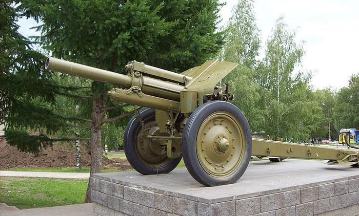 Pháo M1938 là một trong các loại hỏa lực chính của Liên Xô.