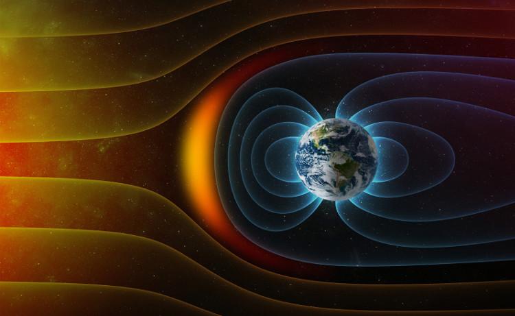 Vượt ra khỏi từ trường của Trái đất là lượng bức xạ khổng lồ ập đến.