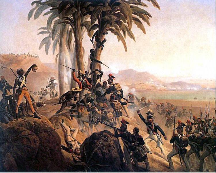 Sau 100 năm bị áp bức đô hộ, hơn 100.000 nô lệ Haiti đã nổi dậy phản kháng, chiếm lại toàn bộ địa điểm này.