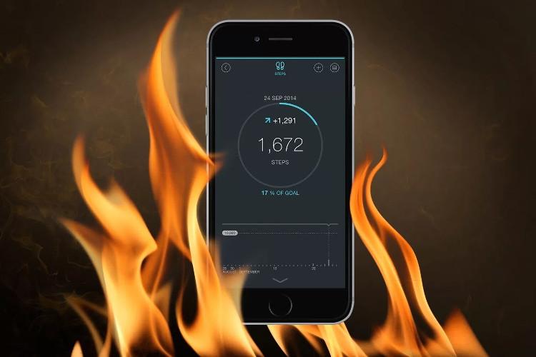 Bạn nên đặc biệt cẩn thận khi đặt iPhone ở môi trường lạnh giá hoặc khi để iPhone trong xe ô tô.