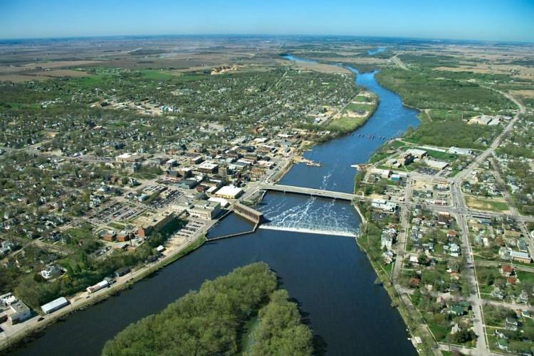 Sông Mississppi và Misouri cùng chung 1 hệ thống.