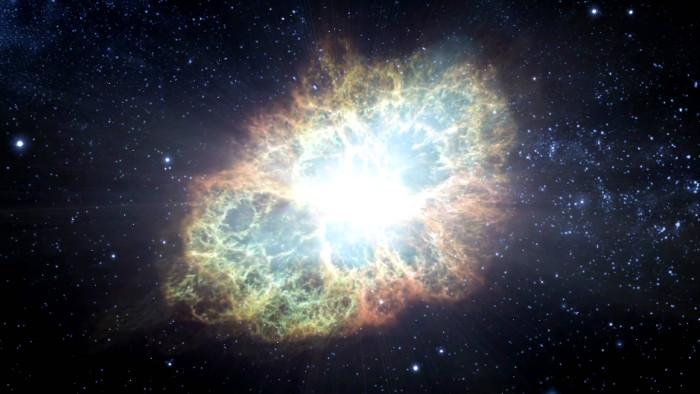 Vụ nổ lớn đã đưa vàng đến Trái đất.