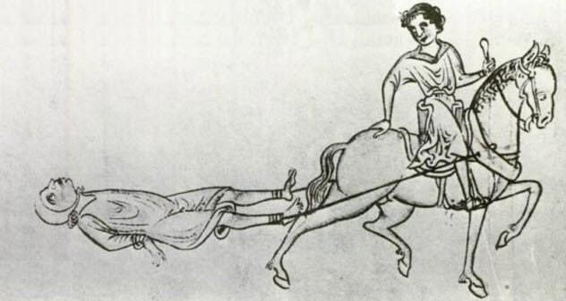 Năm 1241, William Maurice bị cáo buộc là cướp biển nên bị kết án tử hình.